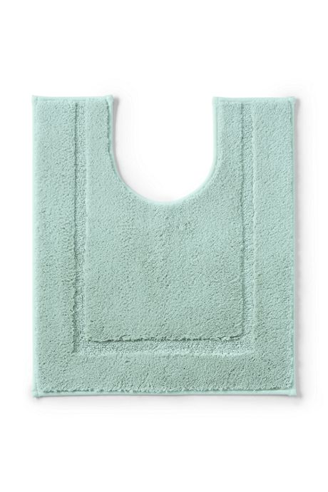 School Uniform Supima Non-skid Contour Bath Rug