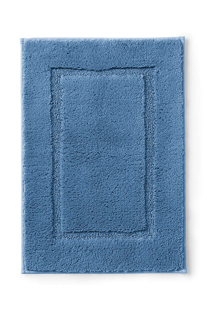 "Supima Cotton Non-skid Small Bath Rug  16"" x 23"" , Front"