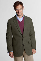 Men's Traditional Heather Cotton Sportcoat
