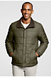LandsEnd Men's Regular Sportsman Quilted Jacket