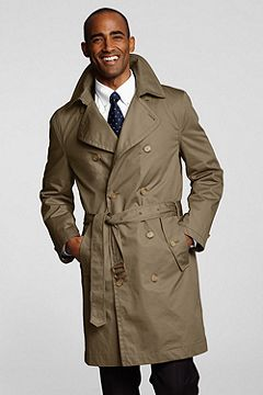 Trench Coat 405873: Khaki