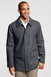 Men's Wool Commuter Parka