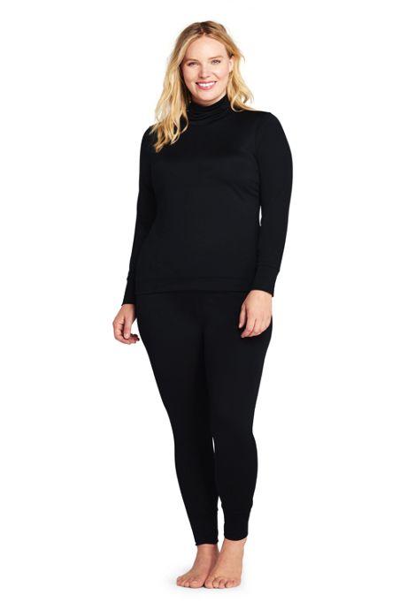 Women's Plus Size Base Layer Long Underwear Thermaskin™ Heat Pants