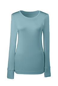 9d587ffe38 Women s Plus Size Silk Base Layer Long Underwear Crew