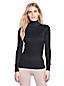 Women's Regular Lightweight Feminine Silk Roll Neck