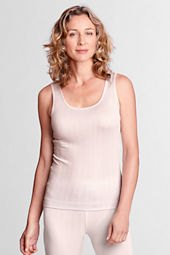Women's Silk Pointelle Tank Top
