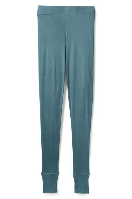 Women's Plus Size Silk Base Layer Long Underwear Pants