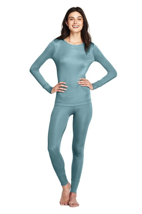 Women's Silk Base Layer Long Underwear Pants
