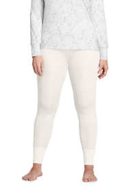 Women's Plus Size Silk Base Layer Long Underwear Pants
