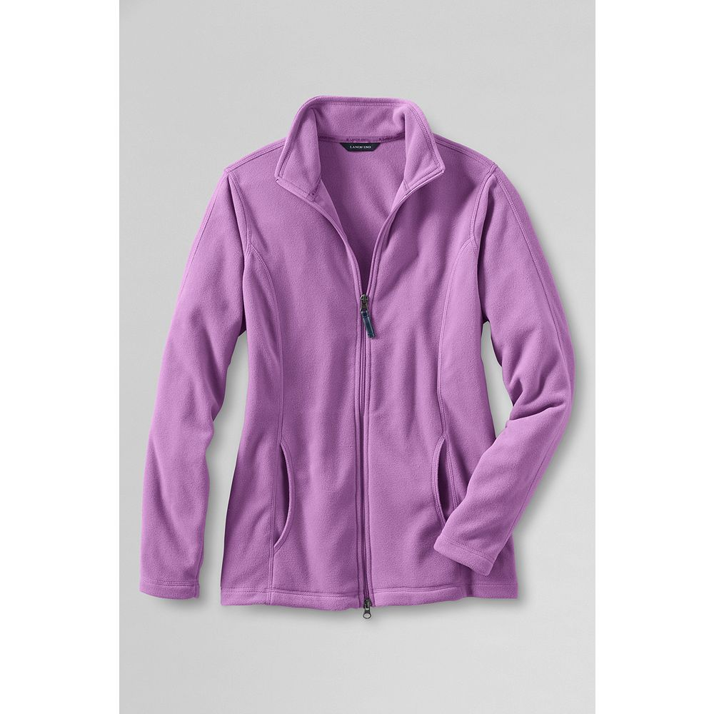 Lands' End Women's Plus Size ThermaCheck 100 Jacket at Sears.com