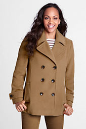 Women's Luxe Wool Pea Coat