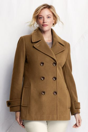 Le Manteau de Conduite en Laine de Luxe, Femme Grande Taille