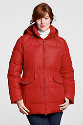 Women's Plus Size Essential Down Parka