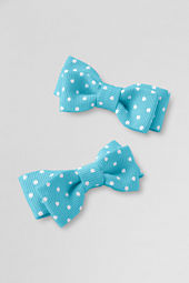 Girls' Bow Hair Clips  (set of 2)