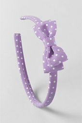 Girls' Skinny Bow Headband