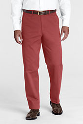 Men's Plain Front Comfort Waist Original Chino Pants
