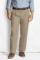 Men's Pleat Front Comfort Waist Original Chino Pants