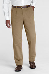 Men's Pleat Front Traditional Fit Original Chino Pants