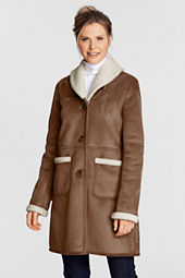 Women's Faux Shearling Coat