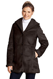 Women's Faux Shearling Parka