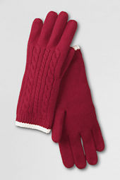 Women's Super Soft Cable Gloves