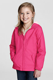 Girls' Navigator® Fleece Lined Rain Jacket