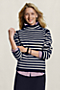 Women's Mariner Scrunch Neck Sweater from Lands' End Canvas