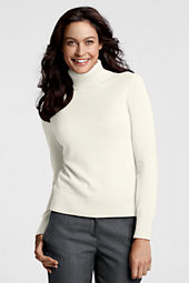Women's Long Sleeve Cashmere Turtleneck Sweater
