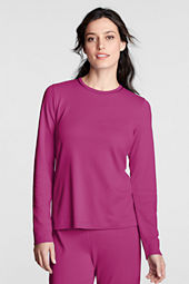 Women's Knit Crewneck Sleep Top