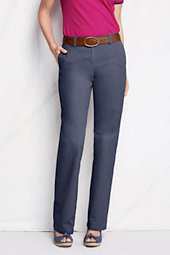 Women's Straight-leg Cotton Chinos