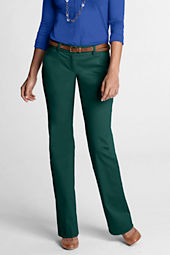 Women's Stretch Boot-cut Chino Pants
