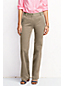 Women's Petite Mid Rise Straight Leg Stretch Chinos