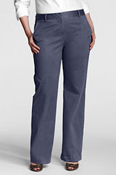 Women's Plus Size Fit 2 Stretch Chino Trousers