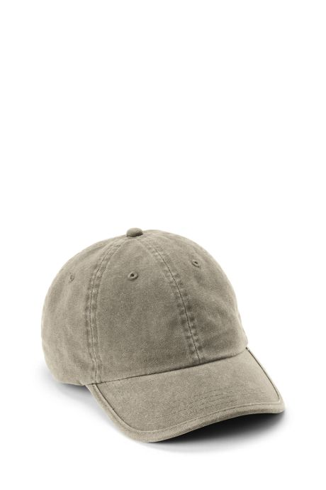 Unisex Low Profile Washed Canvas Cap