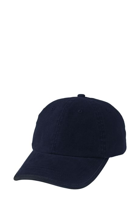 School Uniform Low Profile Washed Canvas Cap