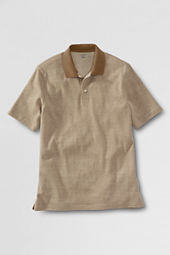 Men's Short Sleeve Jacquard Polo Shirt