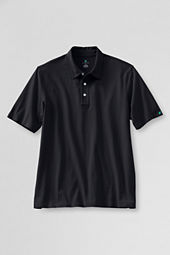 Men's Short Sleeve Recycled Cotton Polo Shirt