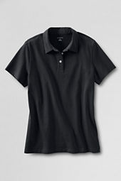 Women's Short Sleeve Recycled Cotton Polo Shirt