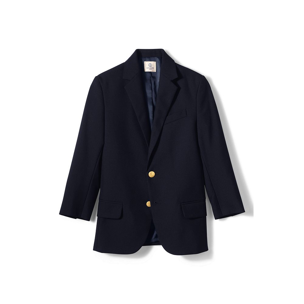 Lands' End School Uniform Boys' Hopsack Blazer at Sears.com