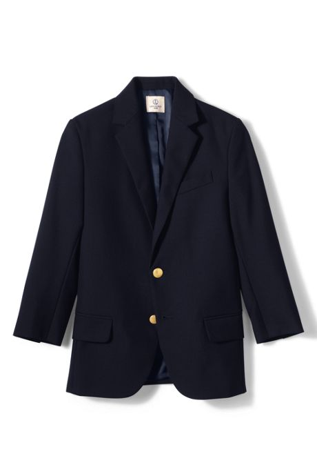 School Uniform Boys Husky Hopsack Blazer