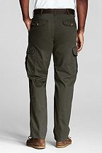 Lands' End Casual Cargo Pants 407287: Expedition Green