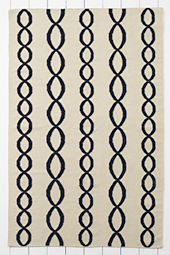 Wool Cable Dhurrie Rugs