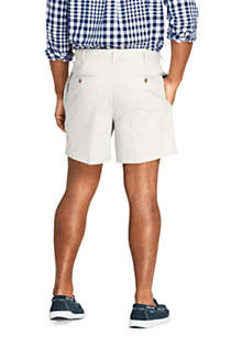 "Men's Traditional Fit 6"" No Iron Chino Shorts, Back"