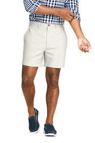 "Men's Traditional Fit 6"" No Iron Chino Shorts"