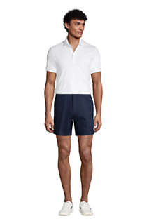 "Men's Traditional Fit 6"" No Iron Chino Shorts, Unknown"