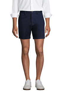 "Men's Traditional Fit 6"" No Iron Chino Shorts, Front"