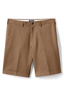 Bügelleichte Chino-Shorts, 23 cm, für Herren