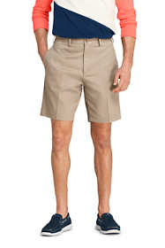 "Men's Traditional Fit 9"" No Iron Chino Shorts"