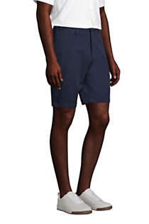 "Men's Traditional Fit 9"" No Iron Chino Shorts, alternative image"