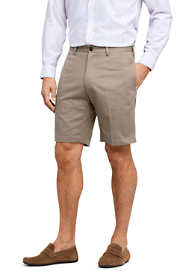 "School Uniform Men's Traditional Fit 9"" No Iron Chino Shorts"